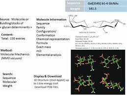Glyco3D: A Suite of Interlinked Databases of 3D Structures of ...
