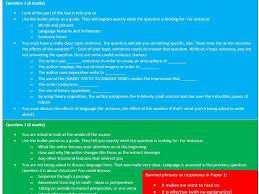 AQA Paper   Unit for      GCSE Language     Lessons    SOW  PPT     Tes