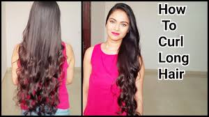 Hair Style Curling how to curl long hair indian hairstyleshow to get natural 5605 by wearticles.com