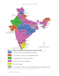 State Anti Conversion Laws In India