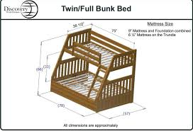 Alluring Shop Size Dimensions Vs Full Full Bunk Beds Dimen Philippines  Standard Canada Inches For Twin