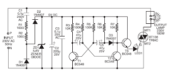 schematic wiring diagram 220v ac operated christmas light star 220v ac operated christmas light star circuit