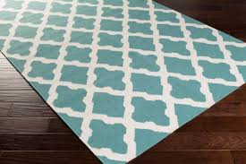 home interior great teal and white area rug popular mosaic found best idea from teal