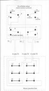 6 lead single phase motor wiring diagram lovely wye delta striking Single Phase Compressor Wiring Diagram at 6 Lead Single Phase Motor Wiring Diagram