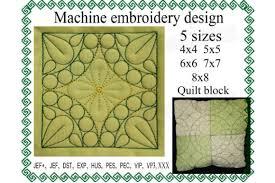 Quilt Block Creative Fabrica