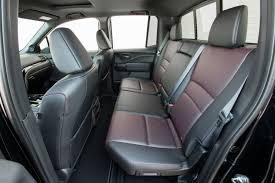2019 honda ridgeline interior back cabin side view of seats