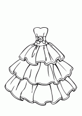 Small Picture Printable Coloring Pages Of Dresses High Quality Coloring Pages