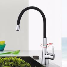 New variety of color kitchen faucet 360 rotating chrome silver