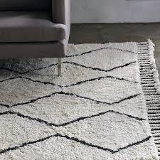 black and white wool rug black and white wool rugs uk