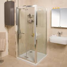 embrace bi fold door shower enclosure