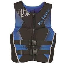 Full Throttle Life Vest Size Chart Full Throttle Mens Hinged Rapid Dry Flex Back Vest Blue 2xlarge
