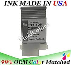 130ml Compatible <b>PFI106PGY Photo Gray</b> Ink Tank for <b>Canon</b> ...