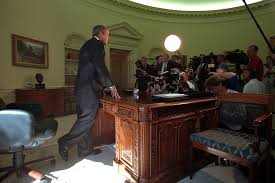 bush oval office. 911: President George W. Bush Addresses Media In Oval Office, 09/13 Office D