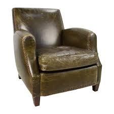 Brown Armchair 83 Off Crate Barrel Crate Barrel Metropole Brown Leather