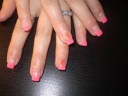 Gelové Nehty Neon Pink