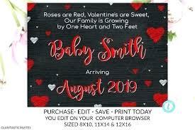 8 X 10 Heart Template Free Editable Heart Template Valentine Pregnancy