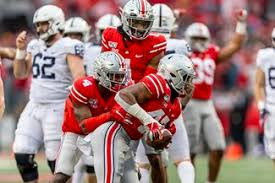 How To Chart A Football Game How Ohio State Footballs Depth Chart In The Big Ten