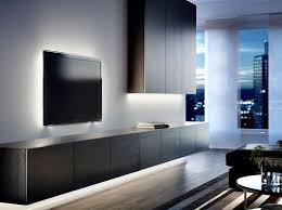 wall unit lighting. BESTÅ Black-brown Wall Cabinet And TV Bench With Doors Ikea Unit Lighting