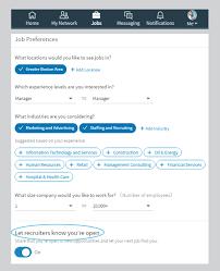 The New Linkedin Three Crucial Tips For Job Seekers Winterwyman