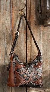 4030025501 black brown hand tooled leather bag