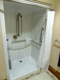 temporary shower stall roll in handicapped design corner stalls portable indoor