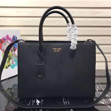 p1ba153 black prada saffiano leather tote large jpg