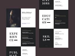 Design Resume Unique 28 WellDesigned Resume Examples For Your Inspiration
