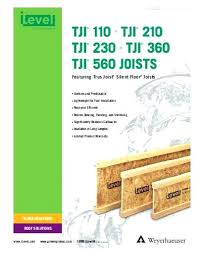 Tji Joist Span Table Iranit Co