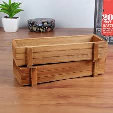 wood planter boxes small
