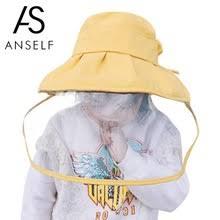 Детская Защитная шляпа в рыбацком стиле, съемная ...