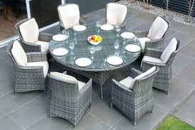 patio furniture dining sets on round wicker table outside and chairs rattan outdoor garden set