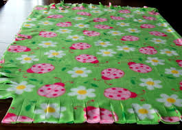 Fringed Fleece Blankets - Pink Polka Dot Creations & Open ... Adamdwight.com