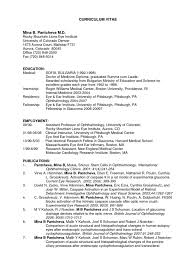 Resume Template Resume In Usa Format Free Career Resume Template