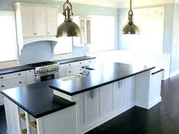 white and grey granite countertops kitchen black quartz steel dark with cabinets