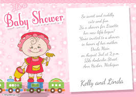 how to word a baby shower invitation baby shower invitation wording for girl 365greetings com