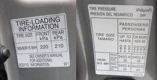 What Is The Recommended Tire Pressure For Your Tire Yokohama