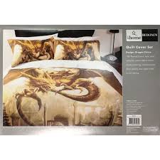 single dragon prince duvet cover set by just home