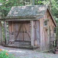rustic shed backyard sheds