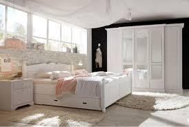 Landhausstil Schlafzimmer Cinderella Kiefer Teilmassiv W02