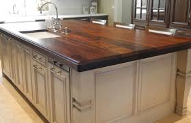custom black walnut kitchen island countertops
