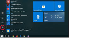 Drücken Sie Die Windows Taste Oder Klicken Sie Auf Das Windows