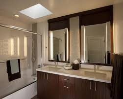 bathroom oak mirror with lights for bathtub bathroom mirror and lighting ideas