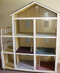DIY doll house for Barbie - very inexpensive to make (link to tutorial)--I  had a friend who had a huge Barbie house when we were kids and it was the  coolest ...