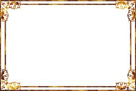 gold frame border png. Simple Border Transparent Frame Gold Background Png Image 28927 In Border L