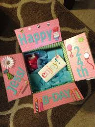 best friend birthday present ideas gifts template gift box diy