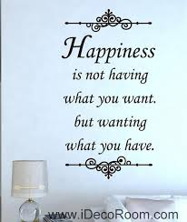 Wall Art Quotes Interesting Happiness Inspirational Wall Art Quotes Vinyl Decal Removable