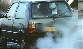 Risultati immagini per car exhaust fumes