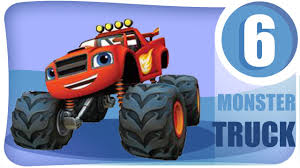 Car Cartoon Monster Truck Garbage Truck Fire Truck Racing