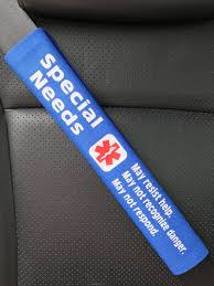 special needs seatbelt cover medical