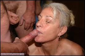 Bukakke granny or mature